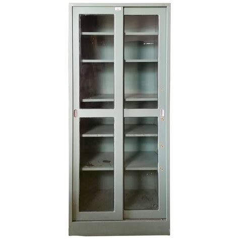 steel dental lab cabinet sliding doors and