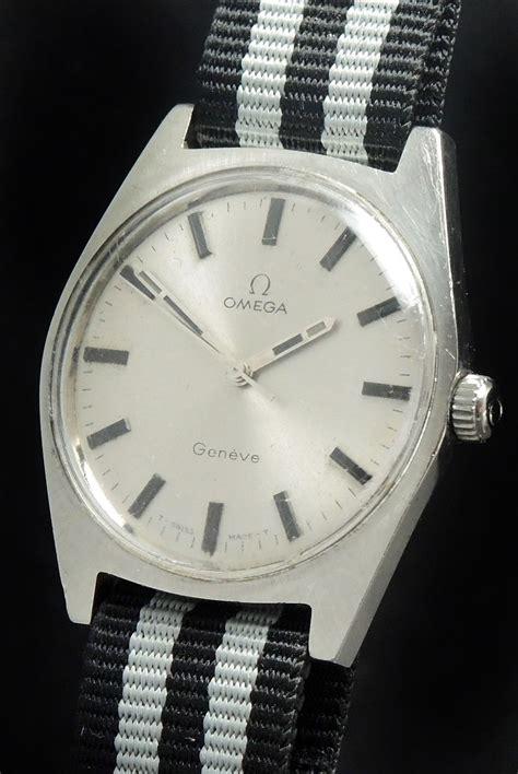 Omega Geneve Stell vintage omega geneve steel onyx indices vintage portfolio