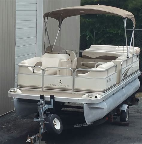 bennington deck boats for sale used pontoon boat for sale bennington deck boat columbus
