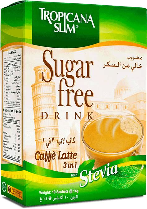Tropicana Slim Cafe Latte 5 Boxes by Tropicana Slim Caffe Latte
