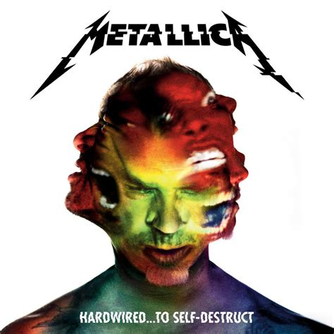 Cd Original Metallica Hardwired To Self Destruct Import hardwired to self destruct vinyl cover metallica