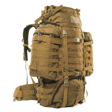molle system wisport army raccoon tactical rucksack 85l backpack molle