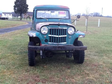vintage willys jeep 1961 jeep willys pickup classic jeep other 1961 for sale