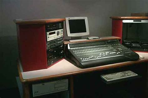 Radio Studio Furniture by Designcraft Radio Production Studio Furniture Production
