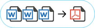 Combine Word Documents Into Pdf