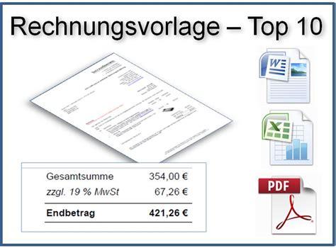 Gratis Musterrechnung Kleinunternehmer Rechnungsvorlagen Zum Direkten Downloadcrm Software Genial Einfach