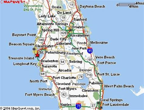 St Petersburg Fl Records Map Of St Petersburg Fl My