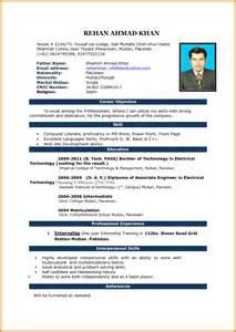 Latest Resume Format Download 5 Latest Cv Formats Free Download Ms Word Ledger Paper
