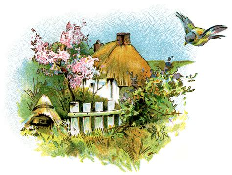 country clipart small country cottage clip design shop