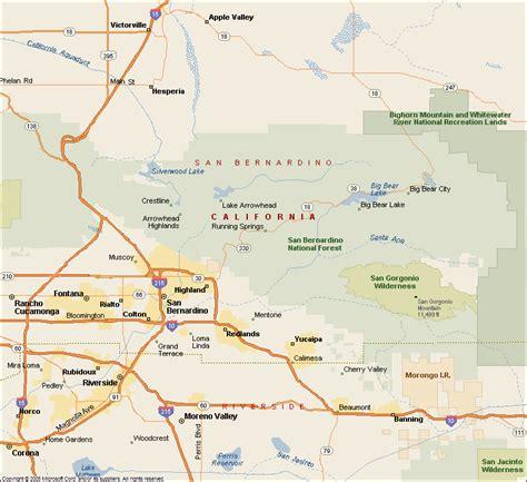 california map inland empire ie