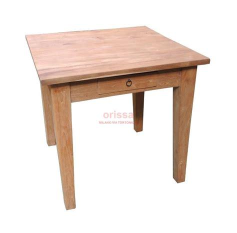 tavolo quadrato legno tavolo legno di teak indonesiano d0905 orissa