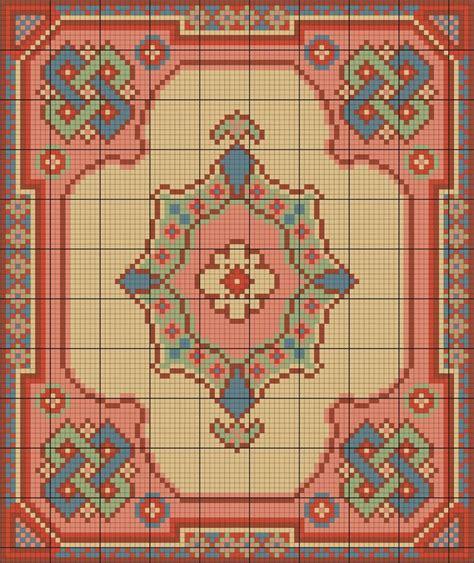 cross stitch rug miniature rug cross stitch mini stuff
