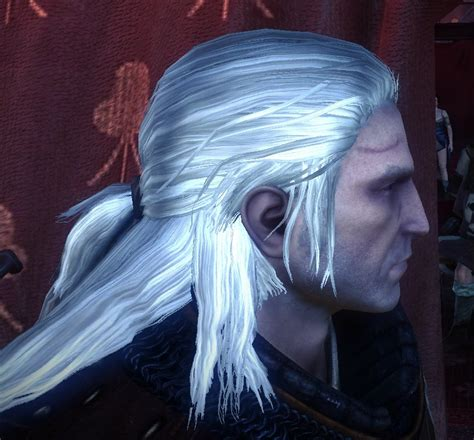 witcher 2 hairstyles return of the white wolf hair texture replacement at the