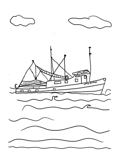 boat crashing drawing crashing waves drawing simple sketch coloring page