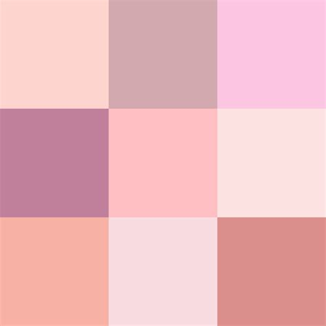 shades of pink color shades of pink