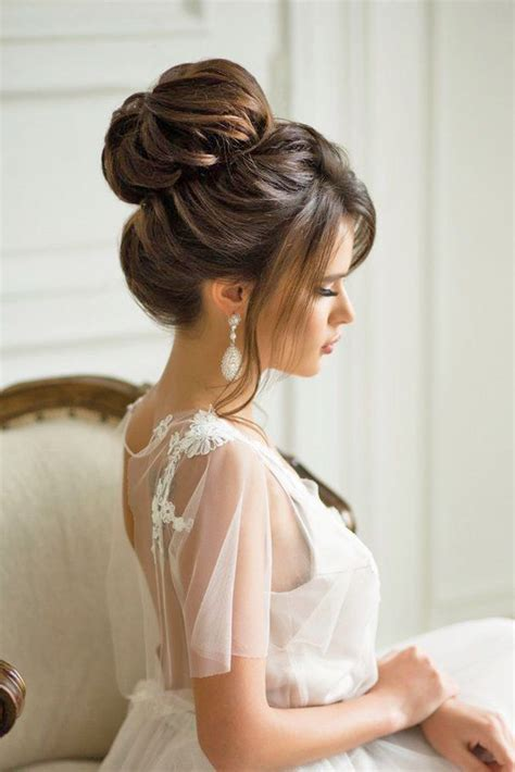 best 25 formal bun ideas only on wedding updo bridesmaids updos and formal hair