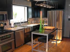 Favorite Countertop Materials Designs Quartz Modern Kitchen Countertop In An Industrial Style Kitchen With Modern Pendant L And