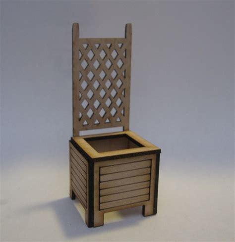 Lattice Planter Box by Lattice Back Planter Box
