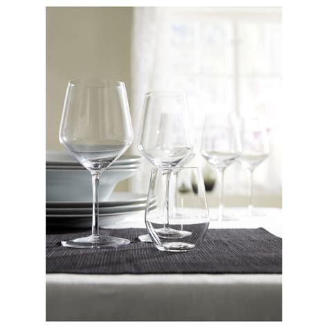 ikea porta vino ivrig wine glass clear glass 48 cl ikea