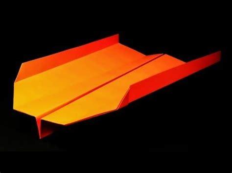 Origami Stunt Plane - como hacer aviones de papel que vuelan mucho y alto