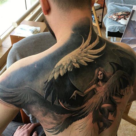 dark matter tattoo of biblical purportions s