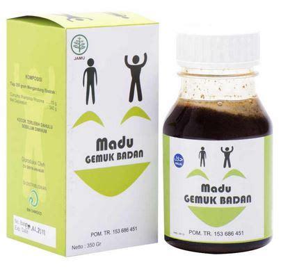 Terpusat Herbal Madu Gemuk Obat Penggemuk Badan al mabruroh madu penggemuk badan garasi herbal