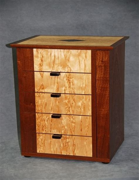 Custom Jewelry Armoire by Crafted Small Jewelry Armoire By Cyma Furniture