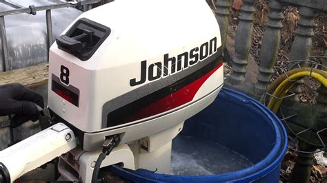 johnson two stroke outboard motors 1997 johnson 8 hp outboard motor 2 stroke dwusuw