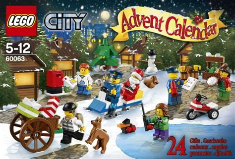 Calendrier De L Avent Lego City 2014 Lego 60063 City Advent Calendar I Brick City