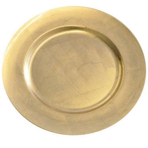 Decorative Charger Plates by Gold Decorative Charger Dinner Plate 33cm