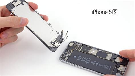 iphone 6s lcd sk 228 rmbyte glass byte replacement change