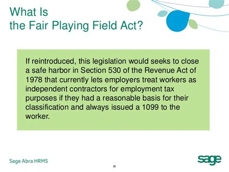 Section 530 Of The Revenue Act Of 1978 28 Images