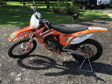 Ktm Sx 250f 2015 Ktm Sxf Used Ktm Sx For Sale In Dundee Illinois