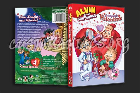 alvin and the chipmunks the valentines collection alvin the chipmunks a chipmunk dvd cover