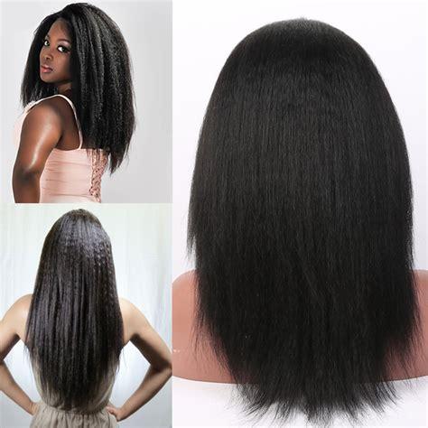 full braided wigs for black women aliexpress com buy 7a brazilian kinky straight full