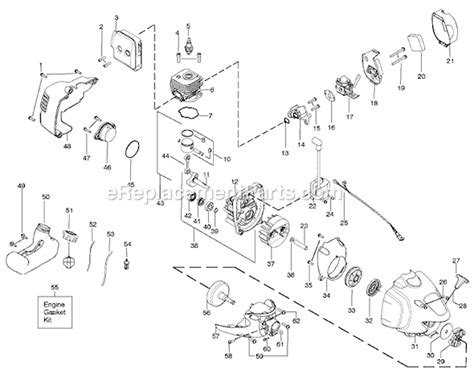 poulan pp025 parts list and diagram ereplacementparts