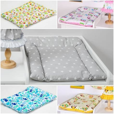 baby matte soft changing mat patterned baby cotton nursery mat for