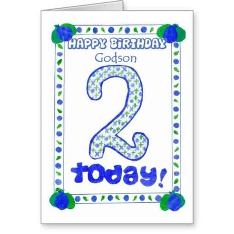 2nd Birthday Quotes For Nephew Happy Birthday Wishes For Godson Page 8 Nicewishes Com