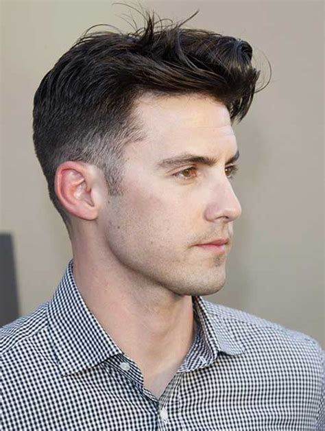 hairstyles for men of hair to the side and a line 20 short hair for men mens hairstyles 2018