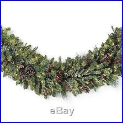 pre lit garland for fireplace decor world 187 archiv 187 frontgate mantel