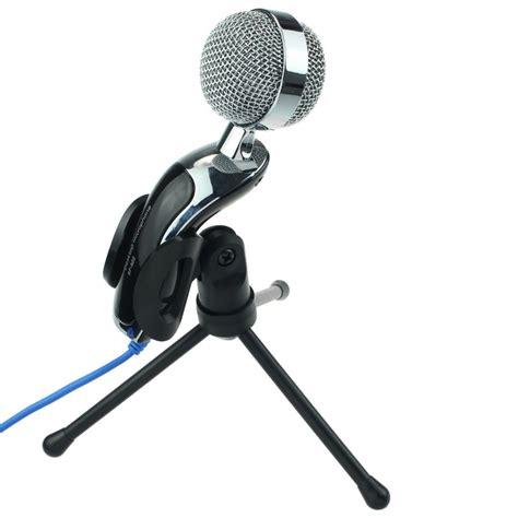 Desk Microphones by Computer Desk Stand Studio Dynamic Mic Voip Skype Desktop