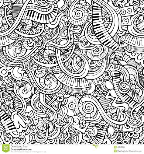 pattern music video music pattern stock vector image 40043286