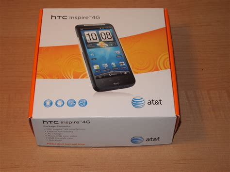Sold Htc Inspire 4g Unlocked Mint