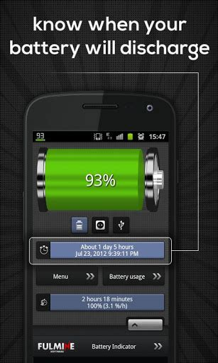 battery indicator widget apk for android