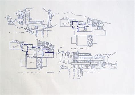 frank lloyd wright falling water floor plan the gallery for gt fallingwater floor plan