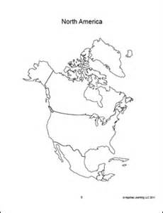 North America Map Outline by Blank North America Map Pdf