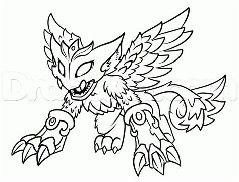 skylanders dragons coloring pages skylanders coloring pages skylanders scratch colouring