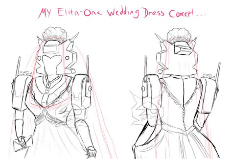 Concept One Wedding by Elita One Wedding Dress Concept By Elitaonearts On Deviantart