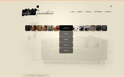 sito di arredamento template flash per un sito di arredamento