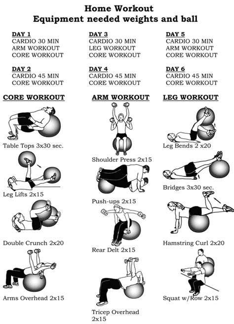 work out plans for home fitness exercise for women for men for women at home for